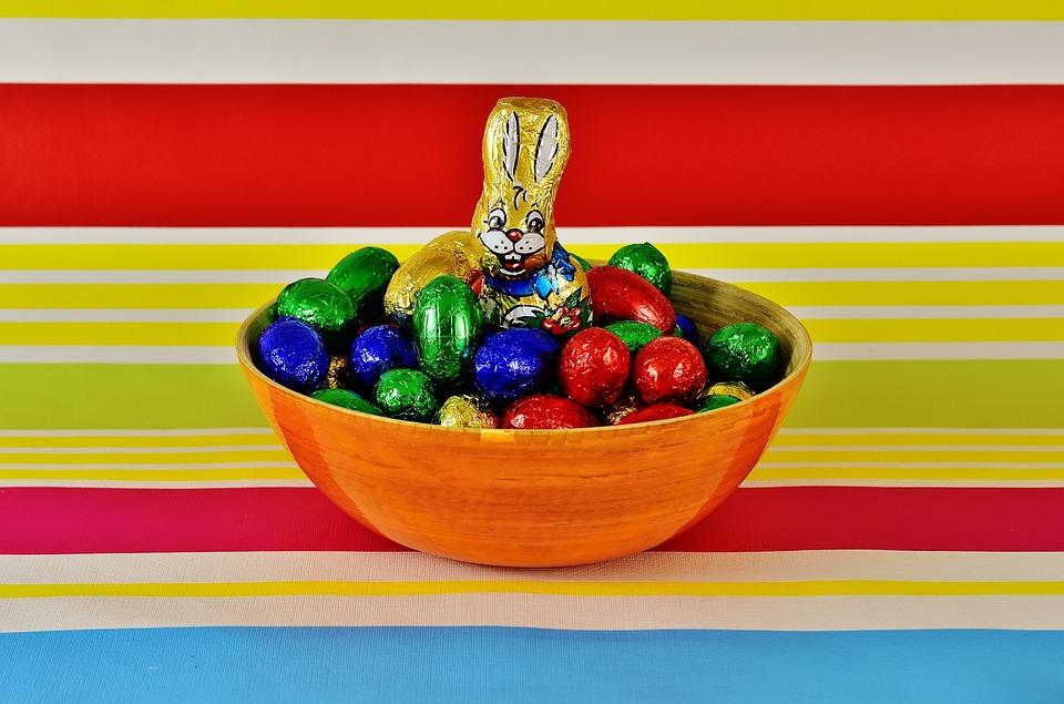 шоколадови яйца, шоколад, яйце