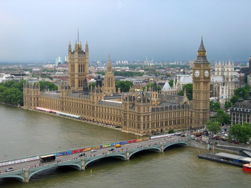 Лондон, Биг Бен, мост