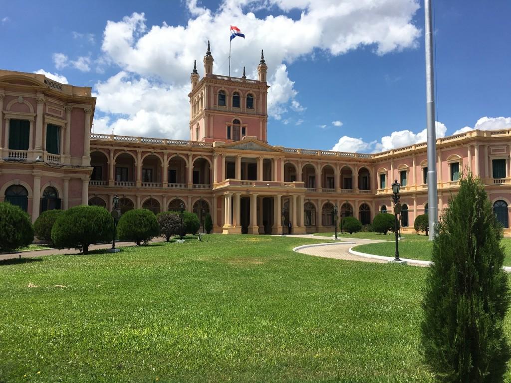 Парагвай, президентски дворец