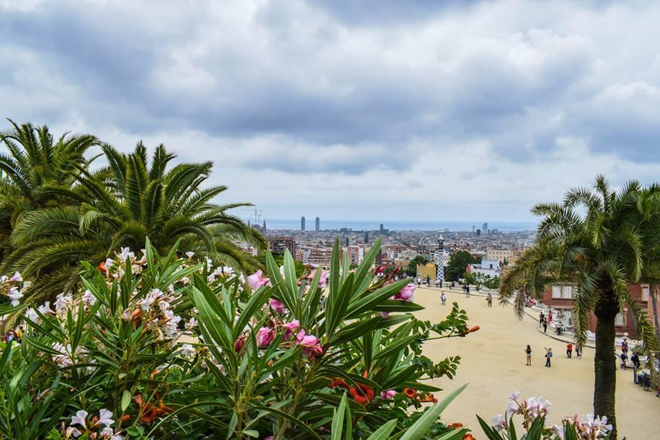 Парк Гюел, Барселона