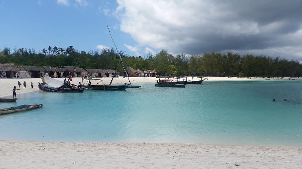 Занзибар, zanzibar, лодка, океан, вода