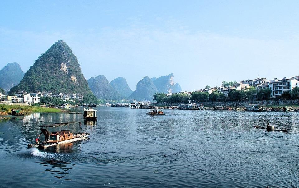 Li River, лека Ли, Китай