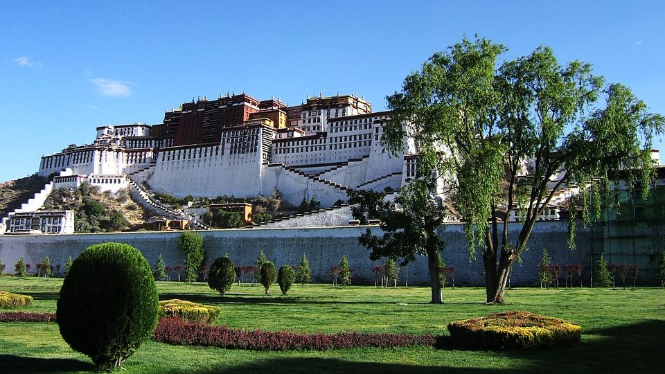 Potala Palace, тибет китай