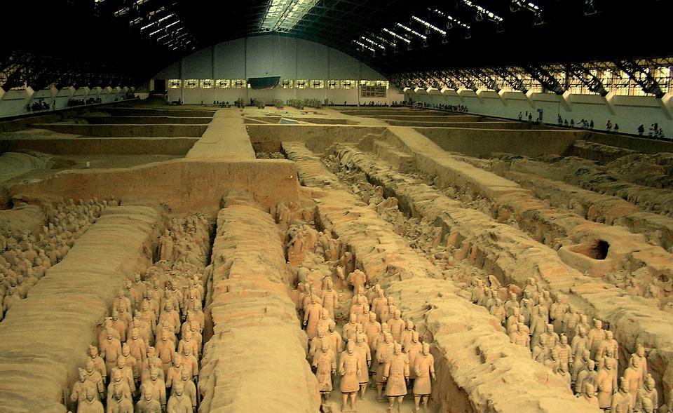 Terracotta Army, Ксиан, теракотени войници, теракотена армия