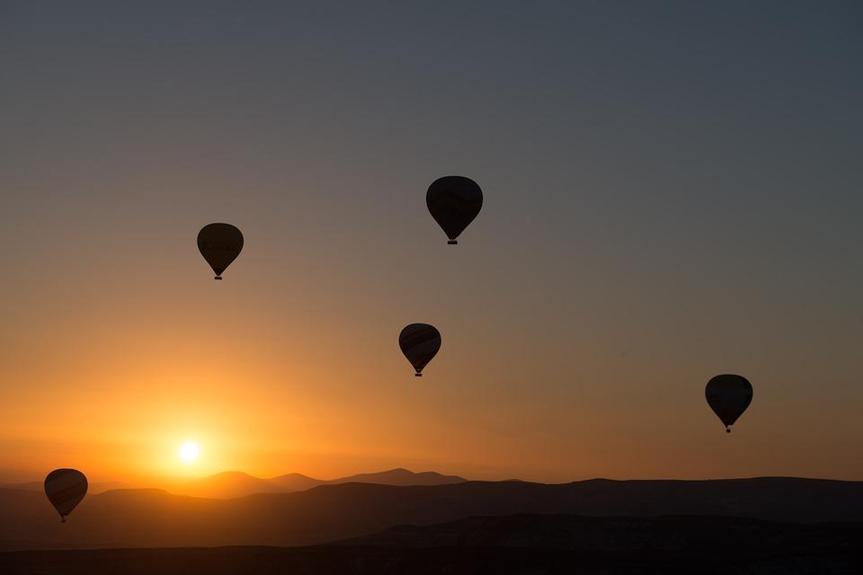 кападокия, турция, балони