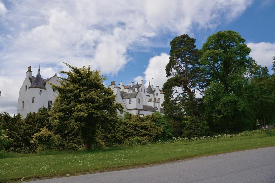 blair, замакът блеър, шотландия