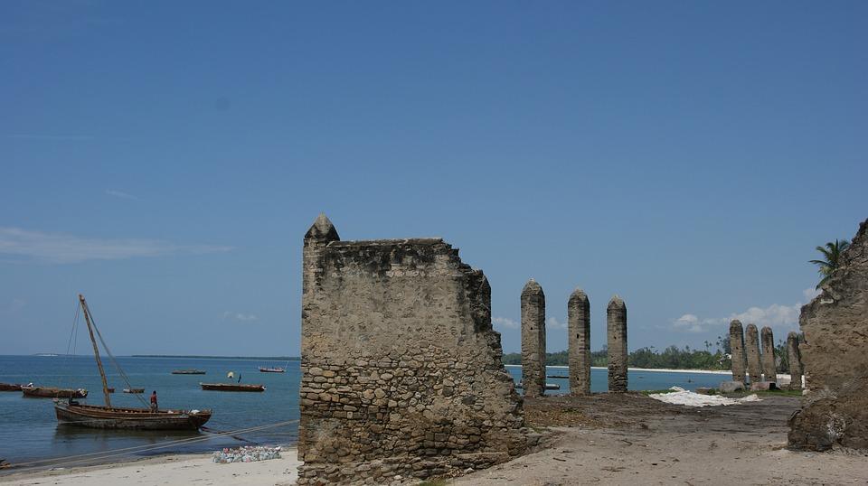 старият форт, занзибар, плаж