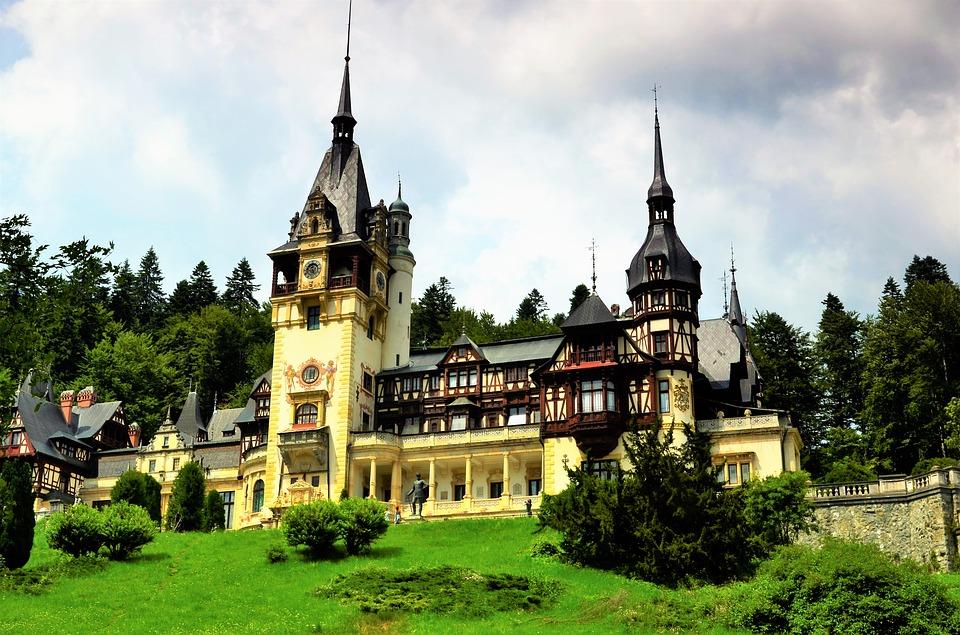 карпатия, румъния, замък