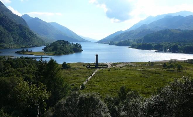 шотландия, пейзаж