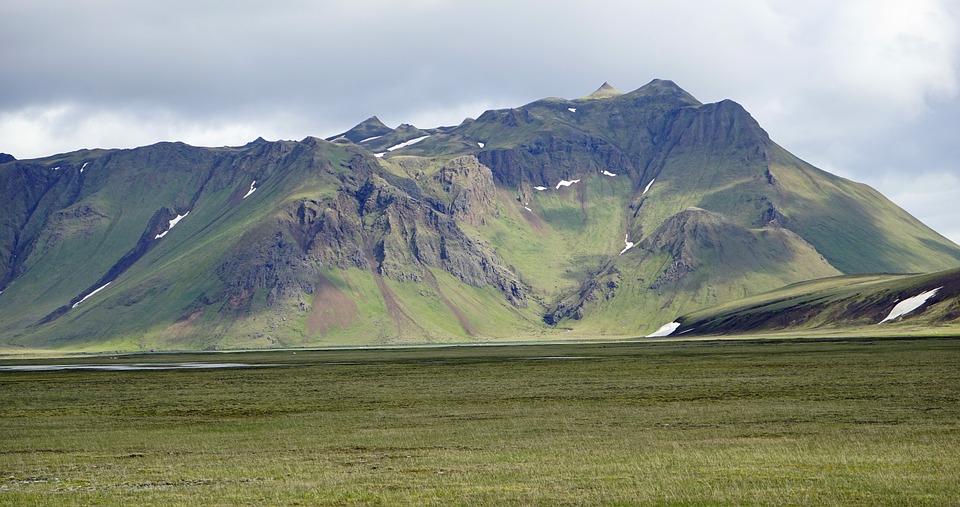 исландия, исландско плато, планини