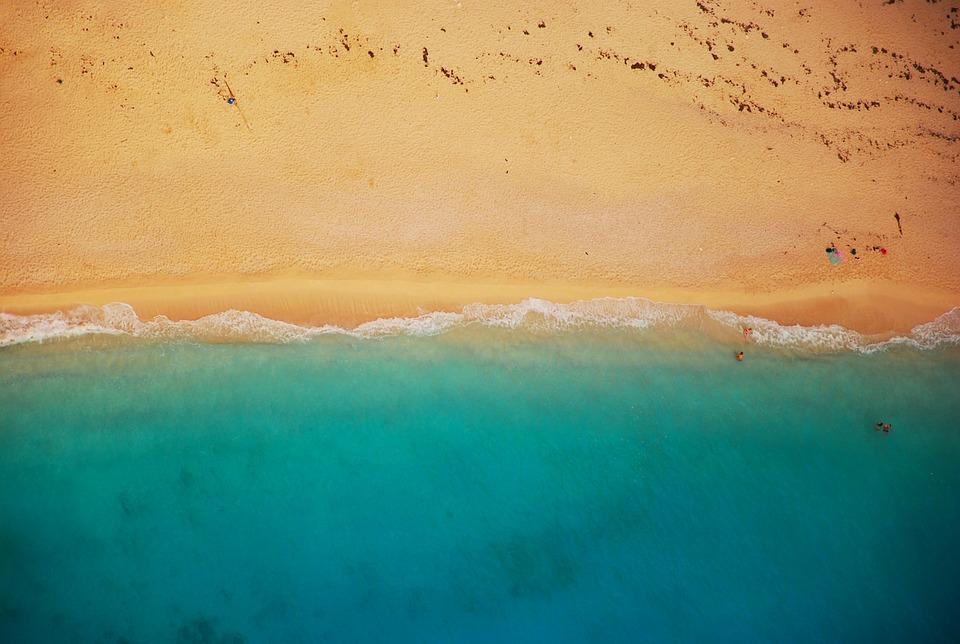 plaj, плаж, море, океан, бряг