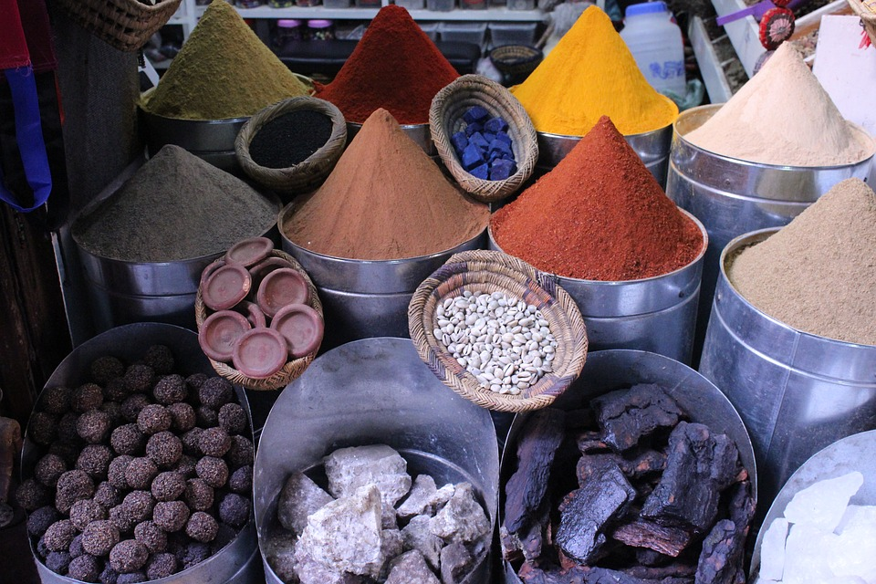 spice, подправки, африка