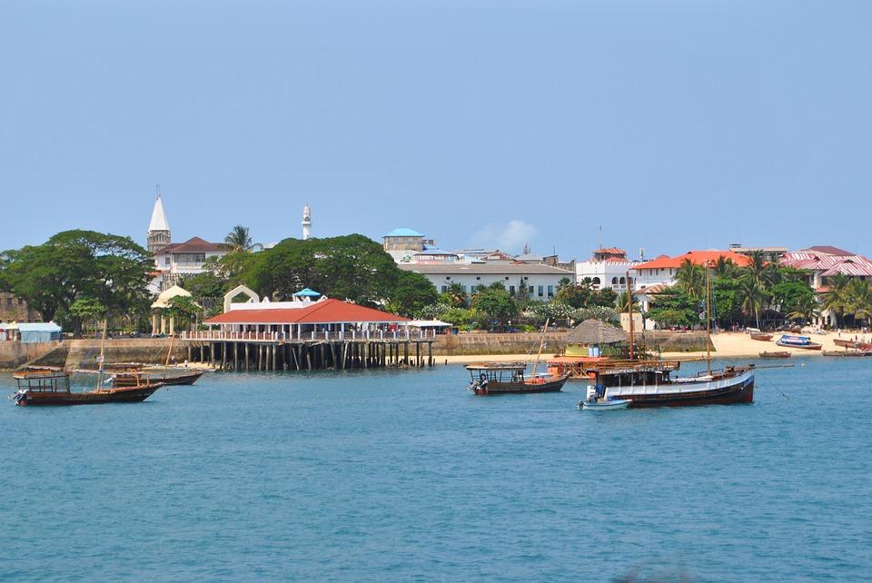 stone-town, каменния град, занзибар, море