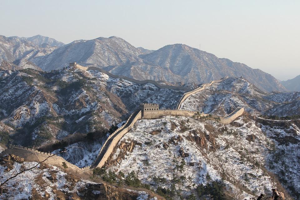 wall, великата китайска стена, китай, пекин