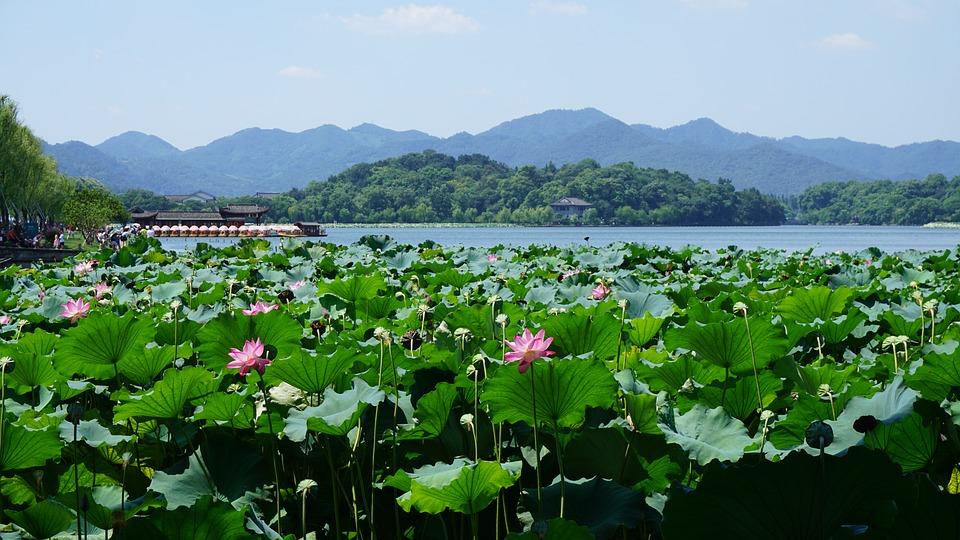 hangzhou-west-lake, западно езеро, Хангжу, китай