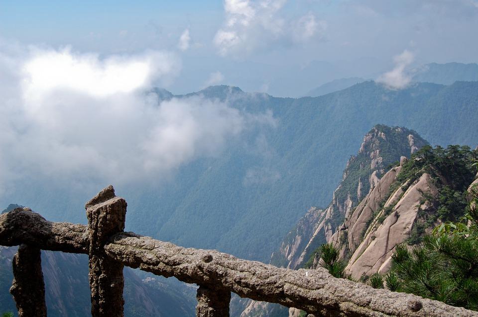 yellow-mauntains, Жълтите планини, Хуаншан, Китай