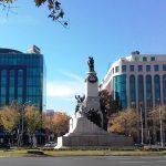 Мадрид на гражданите: Стадионът, паркът и централният площад