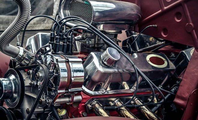 Автомобилен двигател