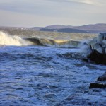 За морето през зимата